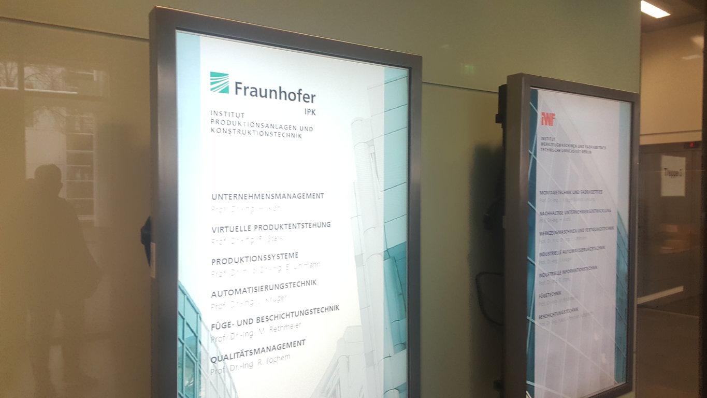 Fraunhofer Berlin visit