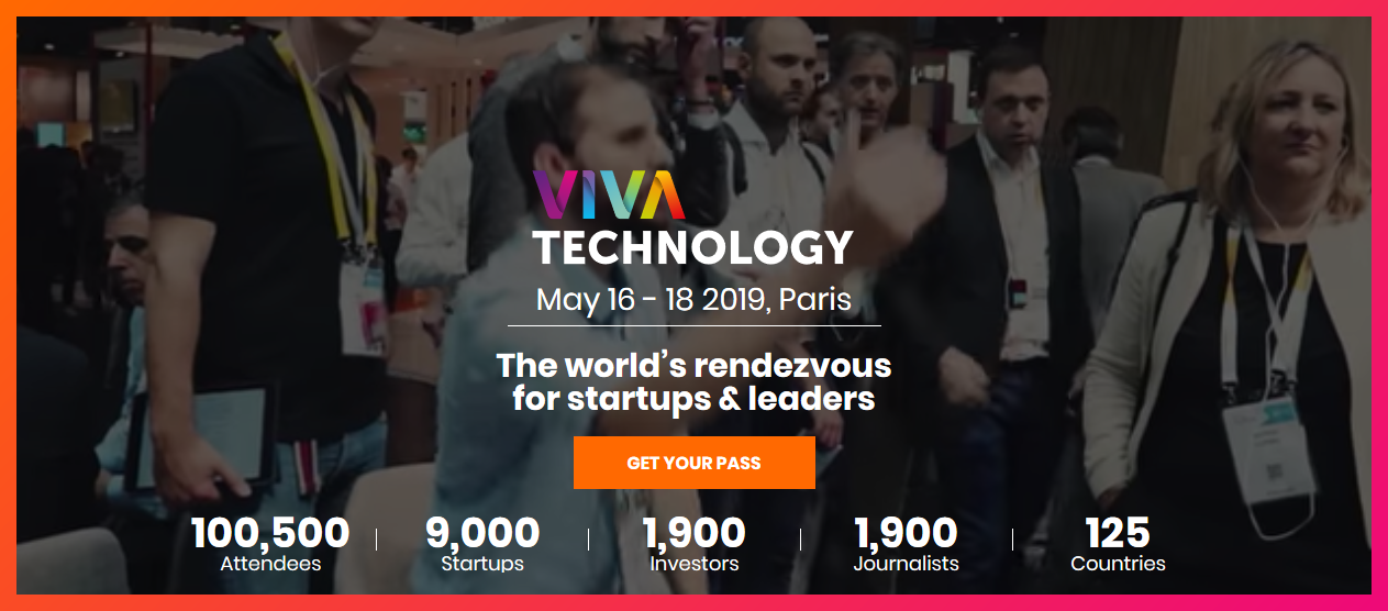 VIVATECH TECHNOLOGY Paris on 16–18 May 2019