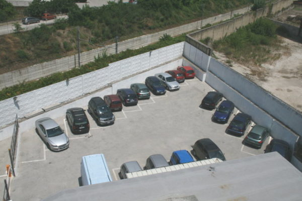 Back parking